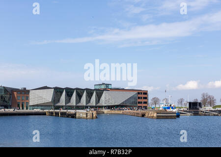 The Culture Yard in Helsingor, Denmark - Stock Photo