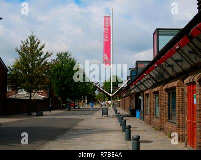 Deptford, London, United Kingdom - August 13, 2018: Deptford Albany, Local Community Centre - Stock Photo