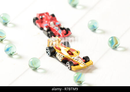 Hot wheels diecast  F1 racing - Stock Photo