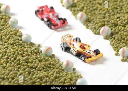 Hot wheels diecast  F1 racing - Stock Photo