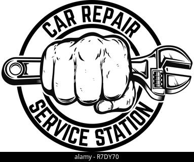 Car Repair Service Diagnostic Logo Template Design Vector Eps 10