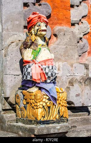 Statue, Pura Ulun Danu Batur Temple, Bali, Indonesia - Stock Photo
