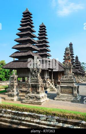 Pura Taman Ayun Temple, Meru, pagoda, Mengwi, Bali, Indonesia - Stock Photo