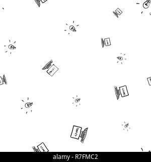Seamless pattern of inspiration for writing software code