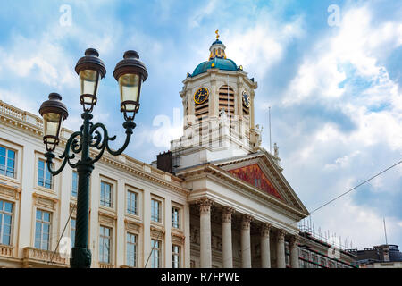 Royal Square in Brussels, Belgium - Stock Photo