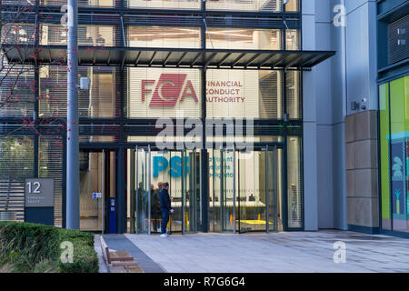 fca, financial conduct authority office, endeavour square, stratford, london, uk - Stock Photo