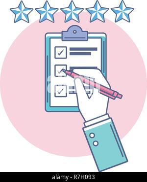 checklist table icon - Stock Photo