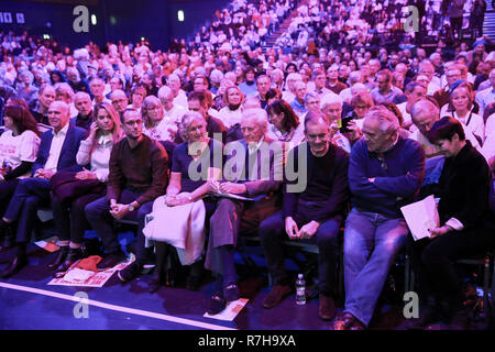 ExCel Centre, London, UK. 9th Dec, 2018. Hundreds of people attend the Best for Britain and the People's Vote campaign's rally in ExCel Centre in East London on the eve of the week in which Parliament will vote on Prime Minister Theresa May's Brexit withdrawal deal. Credit: Dinendra Haria/Alamy Live News - Stock Photo