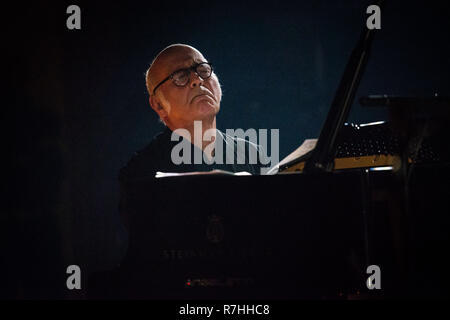 Milan, Italy. 9th Dec 2018. Ludovico Einaudi live at Teatro Dal Verme Credit: Roberto Finizio/Alamy Live News - Stock Photo