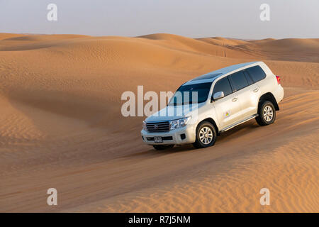Desert safari in Dubai - Stock Photo