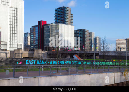 East bank site, stratford, london, uk - Stock Photo
