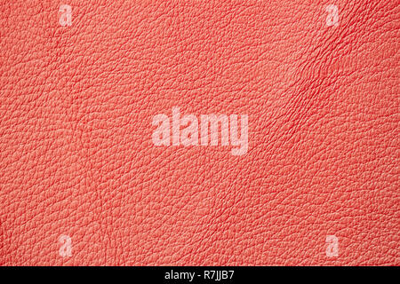 Texture of genuine leather close-up, fashionable pantone color. For natural, artisan backgrounds, backdrop - Stock Photo