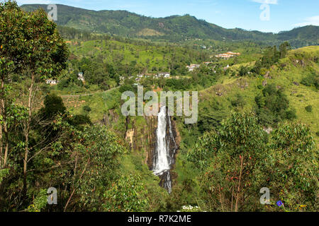 Devon Falls, near Talawakele, Sri Lanka - Stock Photo