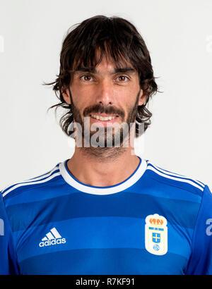 Spain - La Liga 123 _ 2018-2019 /  ( Real Oviedo ) -  Carlos Martinez - Stock Photo