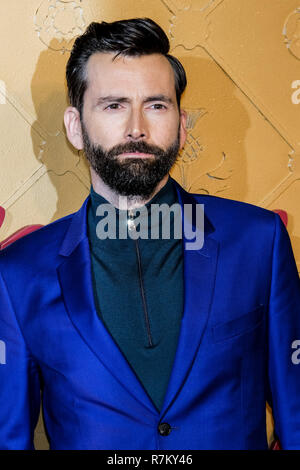 London, UK. 10th Dec 2018. David Tennant at Mary Queen Of Scots European Premiere on Monday 10 December 2018 held at Cineworld Leicester Square, London. Pictured: David Tennant. Credit: Julie Edwards/Alamy Live News Stock Photo