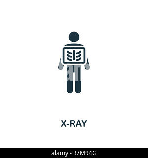 X-Ray icon. Premium style design from healthcare collection. Pixel perfect x-ray icon for web design, apps, software, printing usage. - Stock Photo