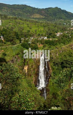 Devon Falls, near Talawakele, Sri Lanka - Stock Photo