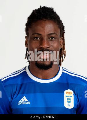 Spain - La Liga 123 _ 2018-2019 /  ( Real Oviedo ) -  Richard Boateng - Stock Photo