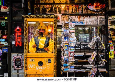 Fortune Teller East Village Manhattan   New York, New York, USA - Stock Photo