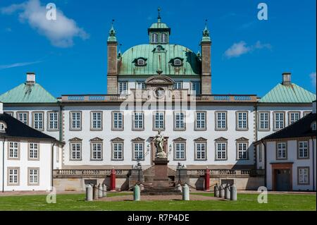 Denmark, Zealand, Fredensborg, Fredensborg Royal Castle - Stock Photo