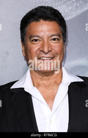 Westwood, California, USA. 10th Dec 2018. Gil Birmingham arrives at the Los Angeles Premiere Of Warner Bros. Pictures' 'The Mule' held at the Regency Village Theatre on December 10, 2018 in Westwood, Los Angeles, California, United States. (Photo by David Acosta/Image Press Agency) Credit: Image Press Agency/Alamy Live News