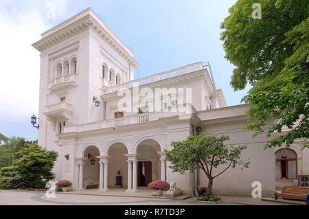 Livadia Palace, near Yalta, Crimea, Ukraine - Stock Photo