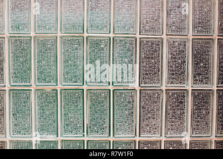 Background tiles in modern glass mosaic of color - Stock Photo