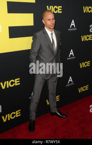 Beverly Hills, CA, USA. 11th Dec, 2018. 11 December 2018 - Beverly Hills, California - Sam Rockwell. the Vice World Premiere at the Academy held at AMPAS Samuel Goldwyn Theater. Photo Credit: Faye Sadou/AdMedia Credit: Faye Sadou/AdMedia/ZUMA Wire/Alamy Live News - Stock Photo
