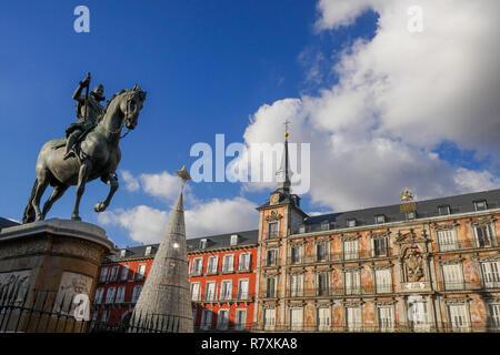 Royal Square, Plaza Reale, Madrid, Spain