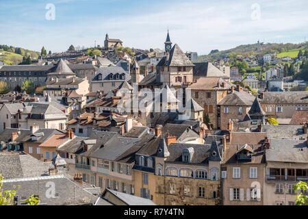 France, Correze, Tulle, Vezere valley - Stock Photo