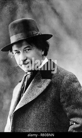 GUSTAVE CHARPENTIER (1860-1956) French operatic composer - Stock Photo