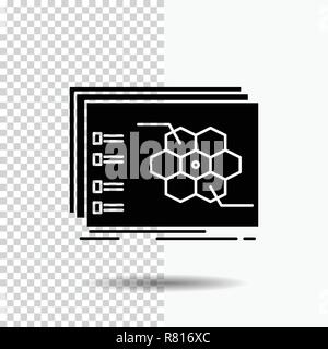 Game, strategic, strategy, tactic, tactical Glyph Icon on Transparent Background. Black Icon - Stock Photo