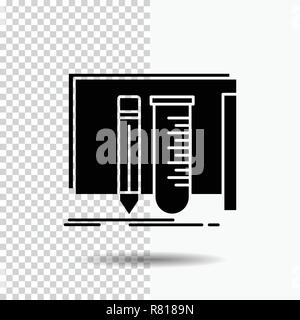 build, equipment, fab, lab, tools Glyph Icon on Transparent Background. Black Icon - Stock Photo