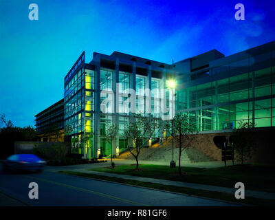 3d render building exterior - Stock Photo