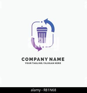 Business Logo for waste, disposal, garbage, management
