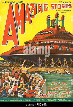 Amazing Stories Vol 1 # 8 November 1926 - Stock Photo