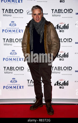 Milan, Italy. 12th Dec, 2018. Milan, 'Tabloid' restaurant inauguration In the photo: Andrea Pellizzari Credit: Independent Photo Agency/Alamy Live News - Stock Photo