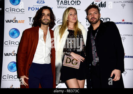 Milan, Italy. 12th Dec, 2018. Milan, 'Tabloid' restaurant inauguration In the picture: Credit: Independent Photo Agency/Alamy Live News - Stock Photo