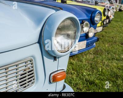 GDR Trabant east germany - Stock Photo