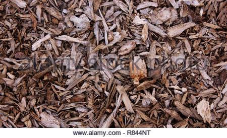 bark mulch background 4k - Stock Photo