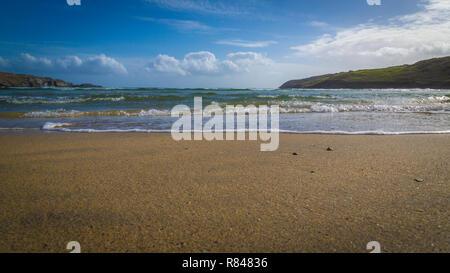 Barley Cove Beach, West Cork, Co Cork, Ireland - Stock Photo