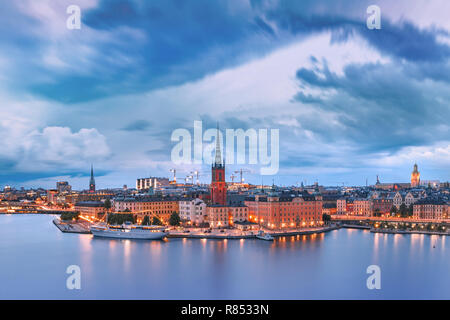 Gamla Stan in Stockholm, Sweden - Stock Photo
