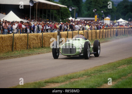 Froilan Gonzalez in 1952 BRM V16 Goodwood Festival of Speed 1996 - Stock Photo