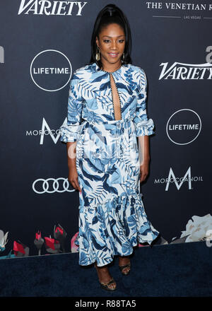 BEVERLY HILLS, LOS ANGELES, CA, USA - OCTOBER 12: Tiffany Haddish at Variety's Power Of Women Los Angeles 2018 held at The Beverly Wilshire Hotel on October 12, 2018 in Beverly Hills, Los Angeles, California, United States. (Photo by Xavier Collin/Image Press Agency) - Stock Photo