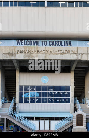 University of North Carolina football stadium, Chapel Hill, North Carolina, USA. - Stock Photo