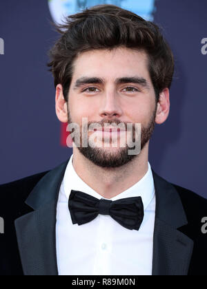 HOLLYWOOD, LOS ANGELES, CA, USA - OCTOBER 25: Alvaro Soler at the 2018 Latin American Music Awards held at the Dolby Theatre on October 25, 2018 in Hollywood, Los Angeles, California, United States. (Photo by Xavier Collin/Image Press Agency) - Stock Photo