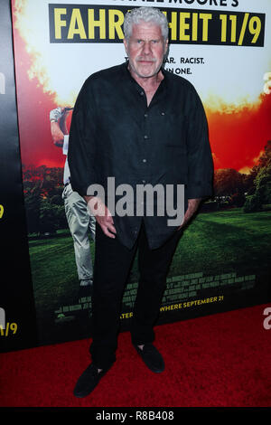 BEVERLY HILLS, LOS ANGELES, CA, USA - SEPTEMBER 19: Ron Perlman at the Los Angeles Premiere Of Briarcliff Entertainment's 'Fahrenheit 11/9' held at the Samuel Goldwyn Theater at The Academy of Motion Picture Arts and Sciences on September 19, 2018 in Beverly Hills, Los Angeles, California, United States. (Photo by Xavier Collin/Image Press Agency) - Stock Photo