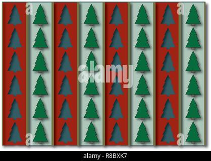 Christmas texture perfect for wrapping papers and Christmas cards. - Stock Photo
