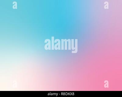 Red And Blue Pastel Color Blurred Background Pattern Vector