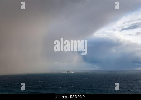 Storm Clouds Over The Southern Ocean - Stock Photo